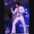 Elvis Impersonator: The King Of Diamonds As Elvis